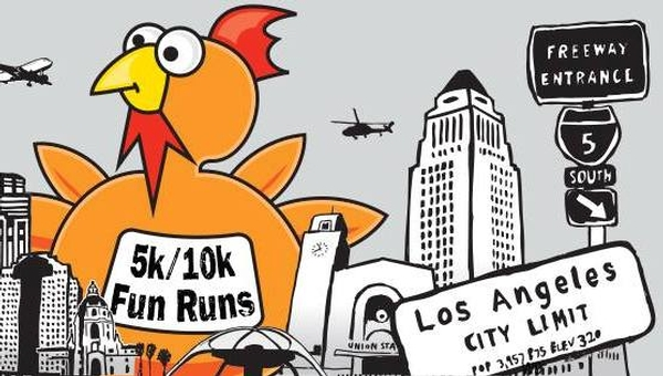 The Turkey Trot Los Angeles 5K and 10K Thanksgiving Day Race