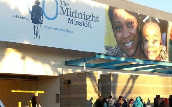 Christmas Day at The Midnight Mission