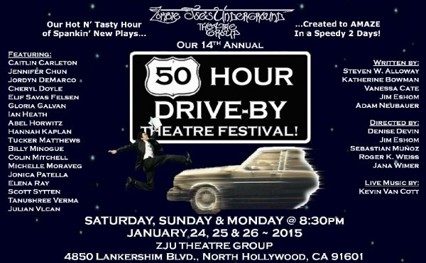 50 Hour Drive-By Theatre Festival