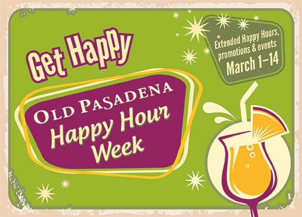 Old Pasadena Happy Hour Week