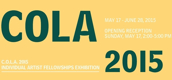 C.O.L.A. Individual Artist Fellowships Exhibition