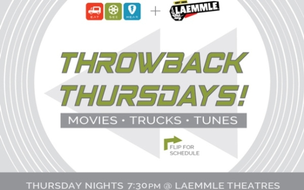 Throwback Thursday Movie Nights @ Laemmle Theatres