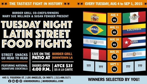 Tuesday Night Latin Food Street Fights