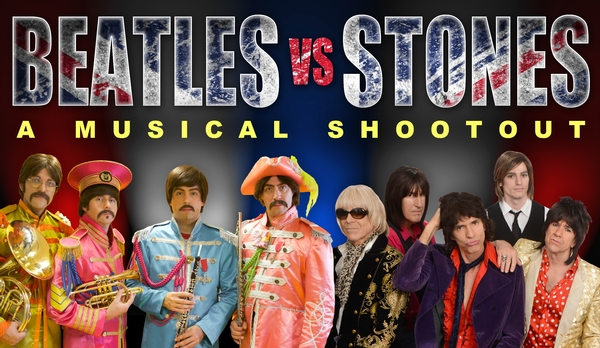 Beatles vs. Stones - A Musical Shootout