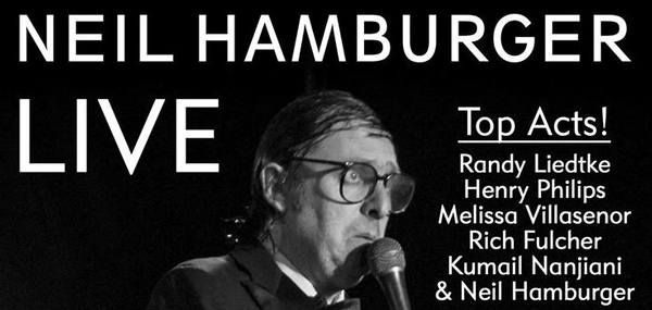 Neil Hamburger: LIVE 11/29 8p @ The Satellite! Kumail Nanjiani! Rich Fulcher! & more!