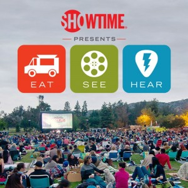 Eat|see|hear, La's Premier Outdoor Movie, Food Truck & Live Music Series