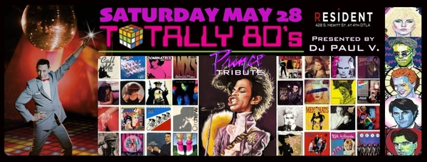 DJ Paul V.'s Totally 80's Dance Party & Prince Tribute