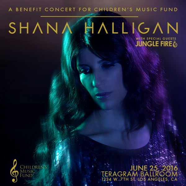 Shana Halligan - A Benefit Concert for Children's Music Fund