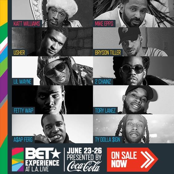 BET Experience at L.A. LIVE