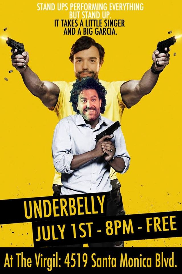 Underbelly! Friday July 1st at The Virgil (Free Comedy!)