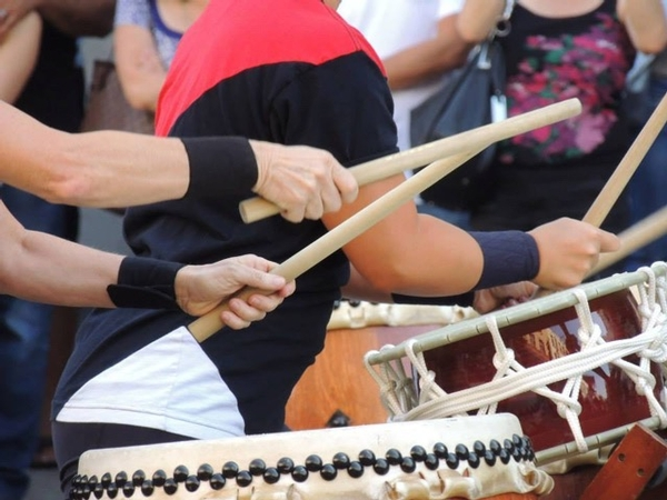 Family Saturdays: Japanese Taiko Drumming