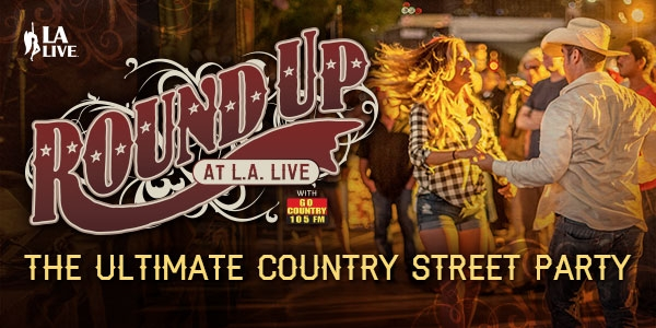 Round Up at L.A. LIVE with Go Country