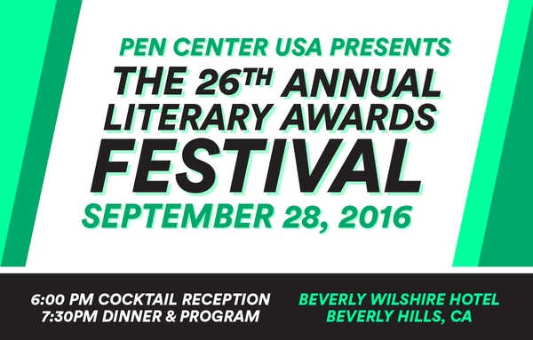 The Pen Center Usa 26th Annual Literary Festival