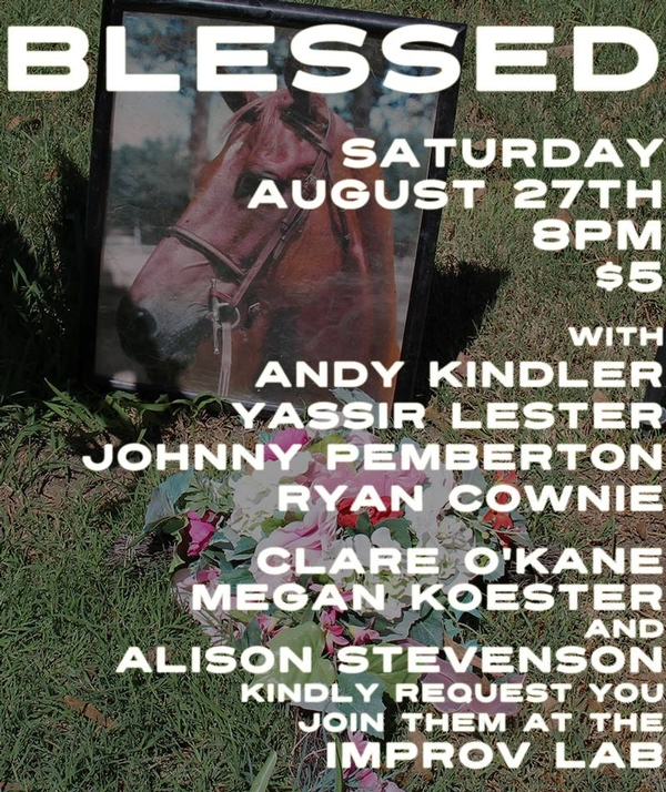 Blessed 8/27 at The Lab