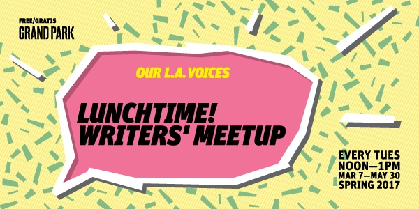 Lunchtime! Writers' Meetup