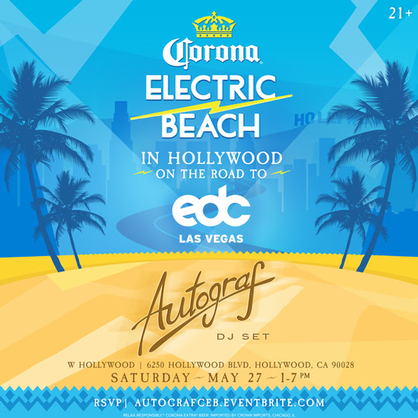 Corona Electric Beach w/ Autograf
