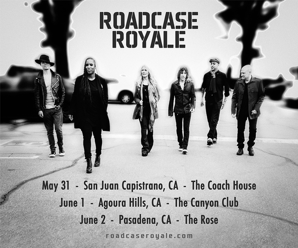 Roadcase Royale at The Rose