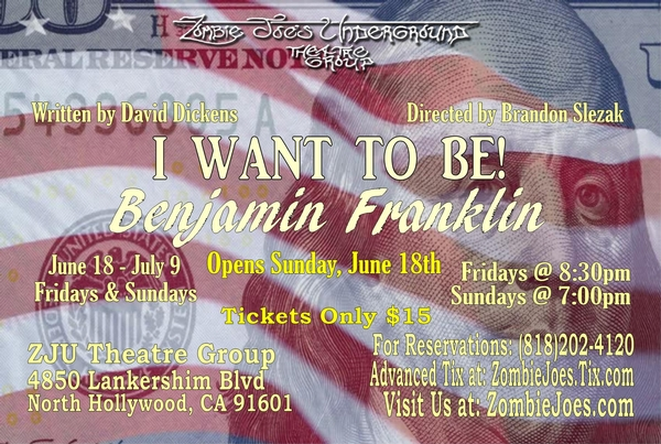 I Want To Be! Benjamin Franklin