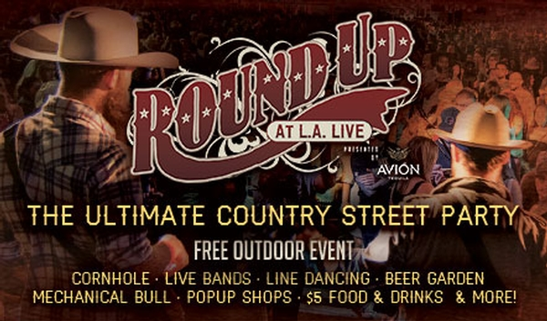 Round Up at L.A. LIVE Presented by Avión