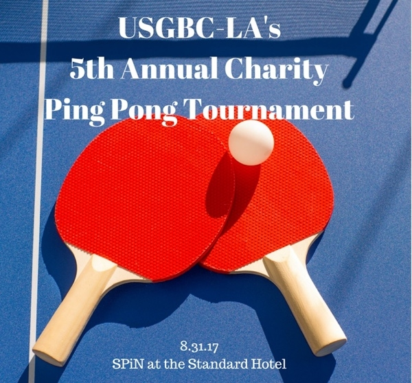 Paddle Up! Ping Pong Tournament to Green our Schools