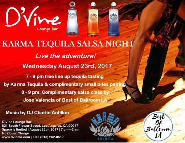 Karma Tequila Salsa Night