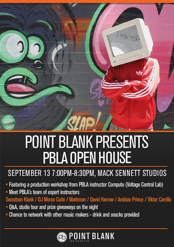 Point Blank Presents: PBLA Open House w/ Computo
