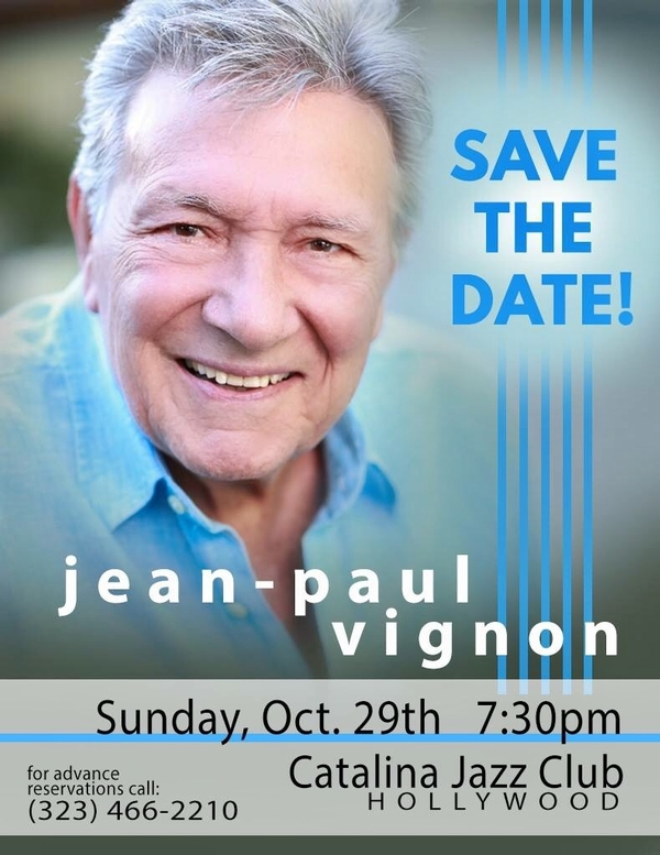 If We Only Have Love: An Evening with singer Jean-Paul Vignon