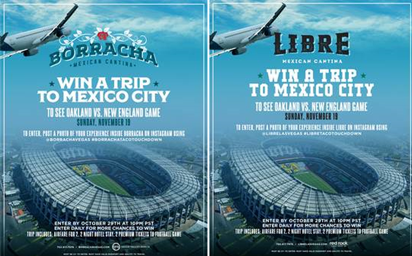 Win The Ultimate Football Experience In Mexico City With Borracha Mexican Cantina And Libre Mexican