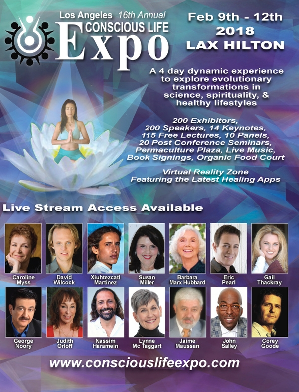 16th Conscious Life Expo - Feb. 9-12, 2018