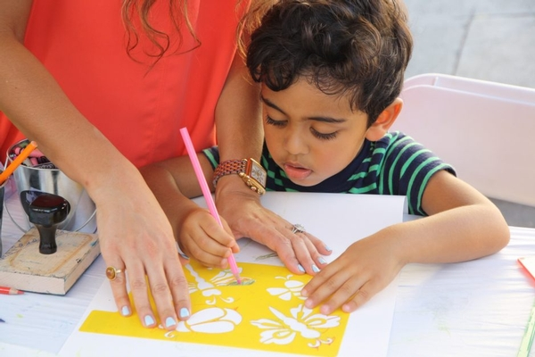 Children's Workshop: Painting The Imaginary
