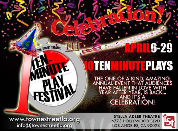 Towne Street Theatre's 10 Ten-Minute Play Festival