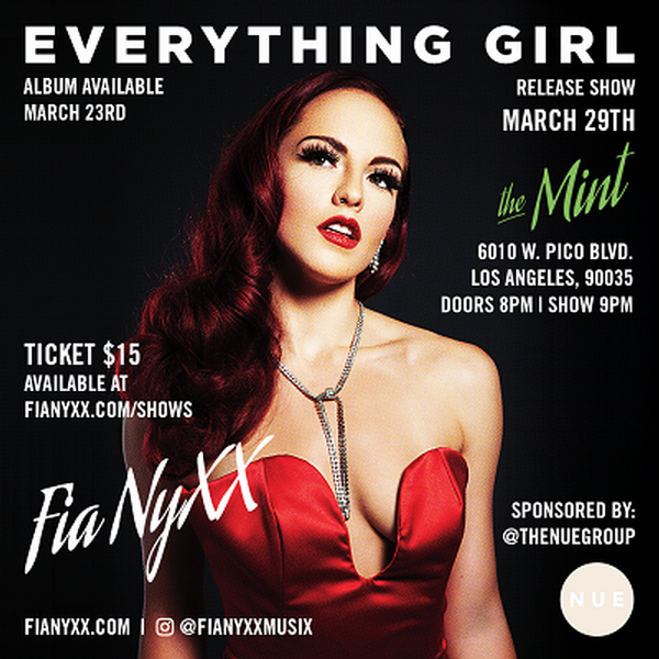 Fia NyXX Release Party at The Mint
