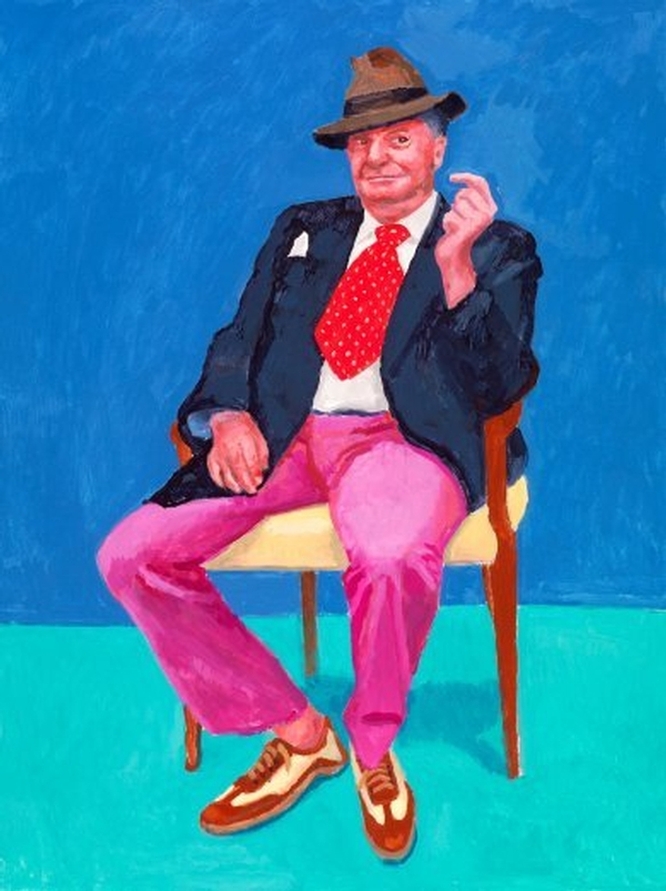 David Hockney: 82 Portaits and 1 Still-Life