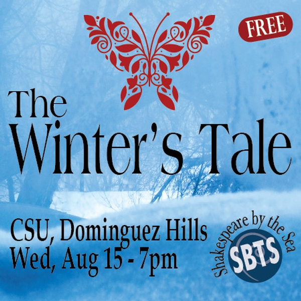 The Winter's Tale - Shakespeare by the Sea at CSU Dominguez Hills Sculpture Garden