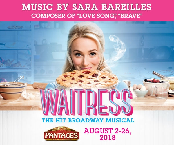 Waitress at the Hollywood Pantages Theatre