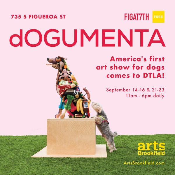 dOGUMENTA: America's First Art Show for Dogs Comes to DTLA!
