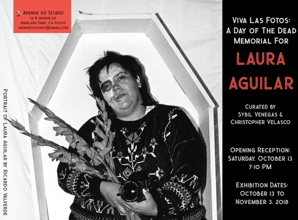 Viva Las Fotos: A Day of the Dead Memorial for Laura Aguilar