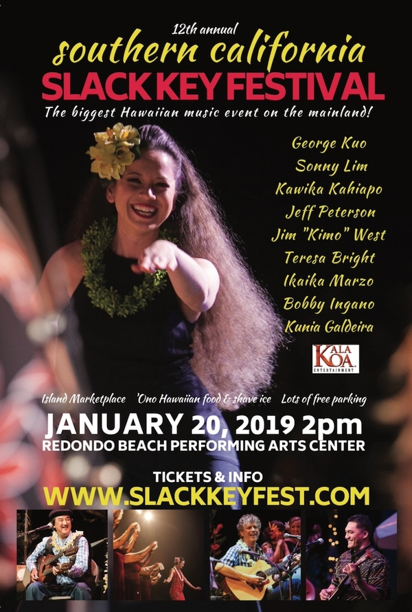 Southern California Slack Key Festival  and Island Marketplace