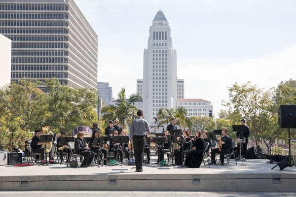 Grand Park's Lunch à la Park Spring Concerts featuring L.A.'s Youth Artists