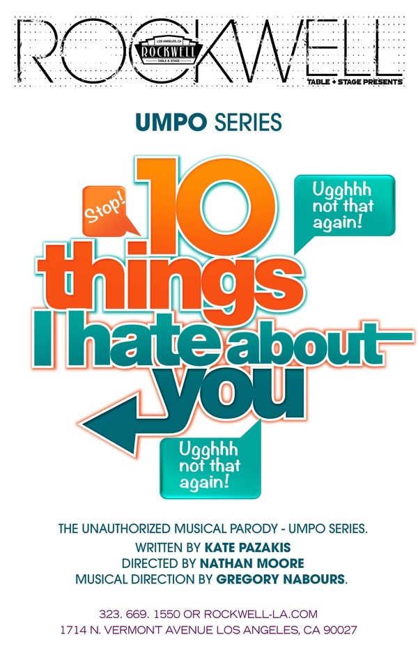 UMPO: 10 Things I Hate About You