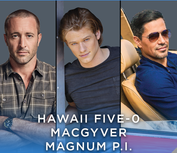 Paleyfest LA - Join the stars of Hawaii Five-0, MacGyver and Magnum P.I. (15% off tix)