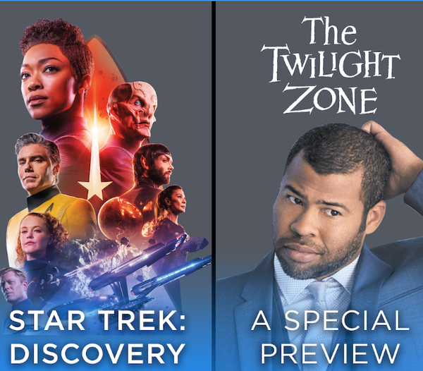 Palyfest LA - Join the stars of Star Trek: Discovery and The Twilight Zone (15% off tix)
