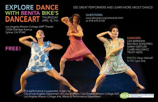 Benita Bike's DanceArt at LA Mission College AMP Theater