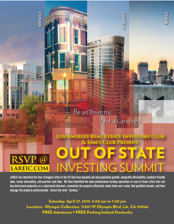 Out-of-State Real Estate Investing Summit