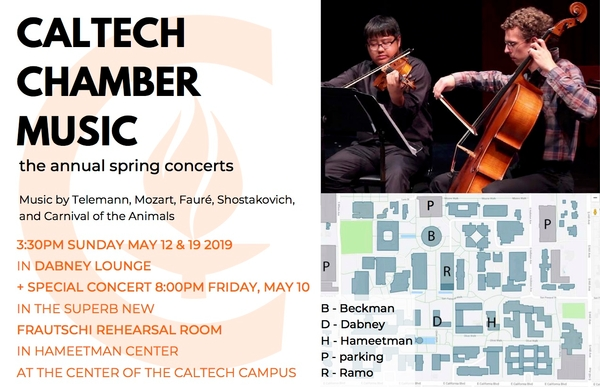 Caltech Chamber Music Ensembles Winter Concert Series