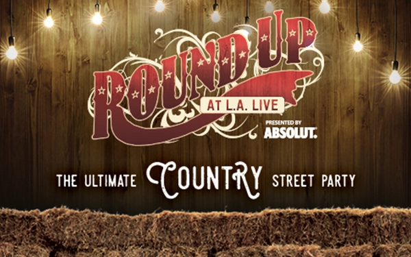 Round Up at L.A. LIVE Presented by Absolut