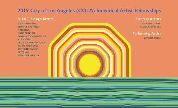 City of Los Angeles (COLA) Individual Artist Fellowships  Visual Arts Exhibition presented by the Ci