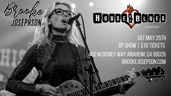 Pop-Rock Singer-Songwriter Brooke Josephson Performs Live on 5/25