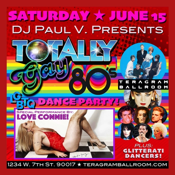 DJ Paul V. Presents: Totally Gay 80's!