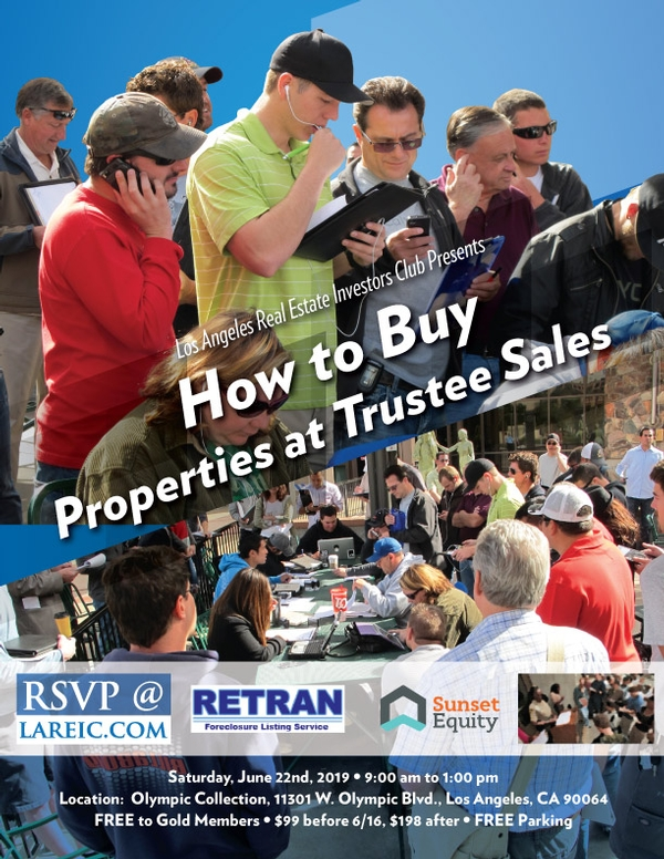 How to Buy Properties at Trustee's Sales